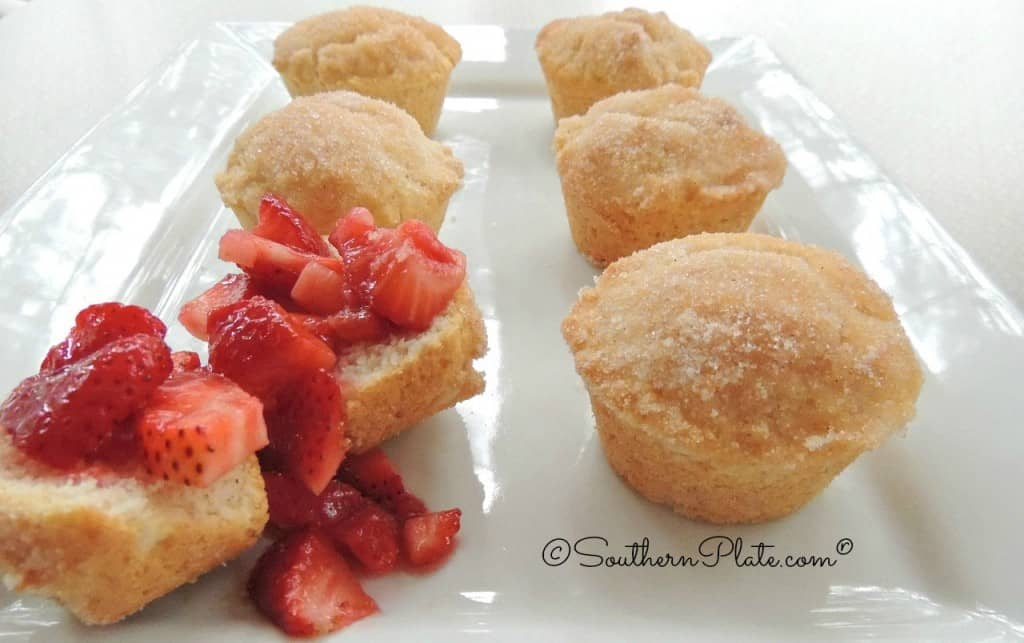 French Puffs with Fresh Strawberries