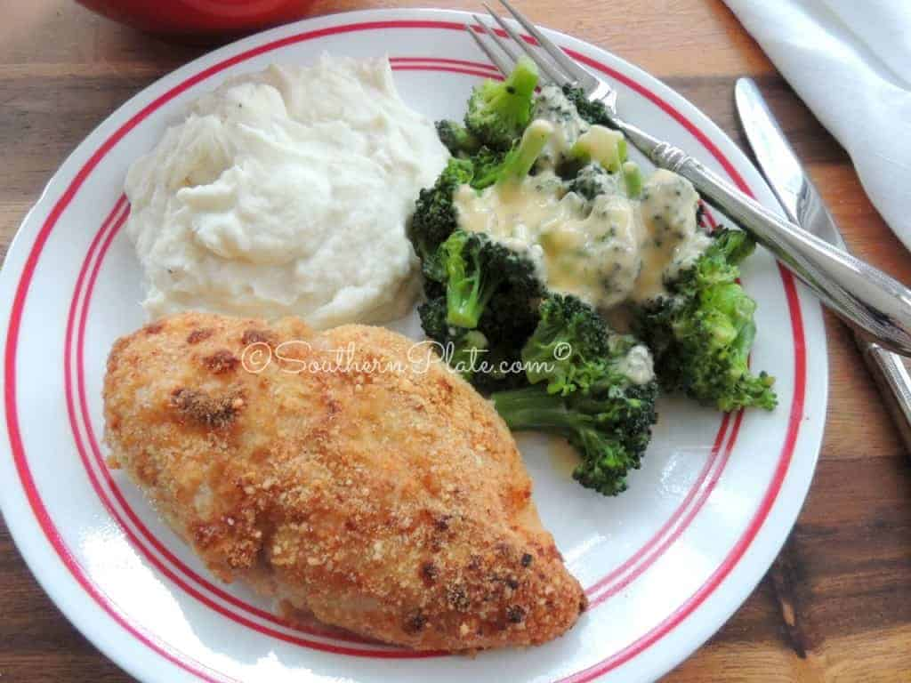 Granny's Oven Fried Chicken - This is unbelievably flavorful and juicy!