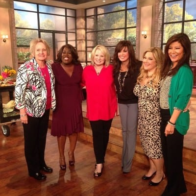 Christy Jordan and Her Mama with Sheryl Underwood, Marie Osmond, Carnie Wilson, and Julie Chen