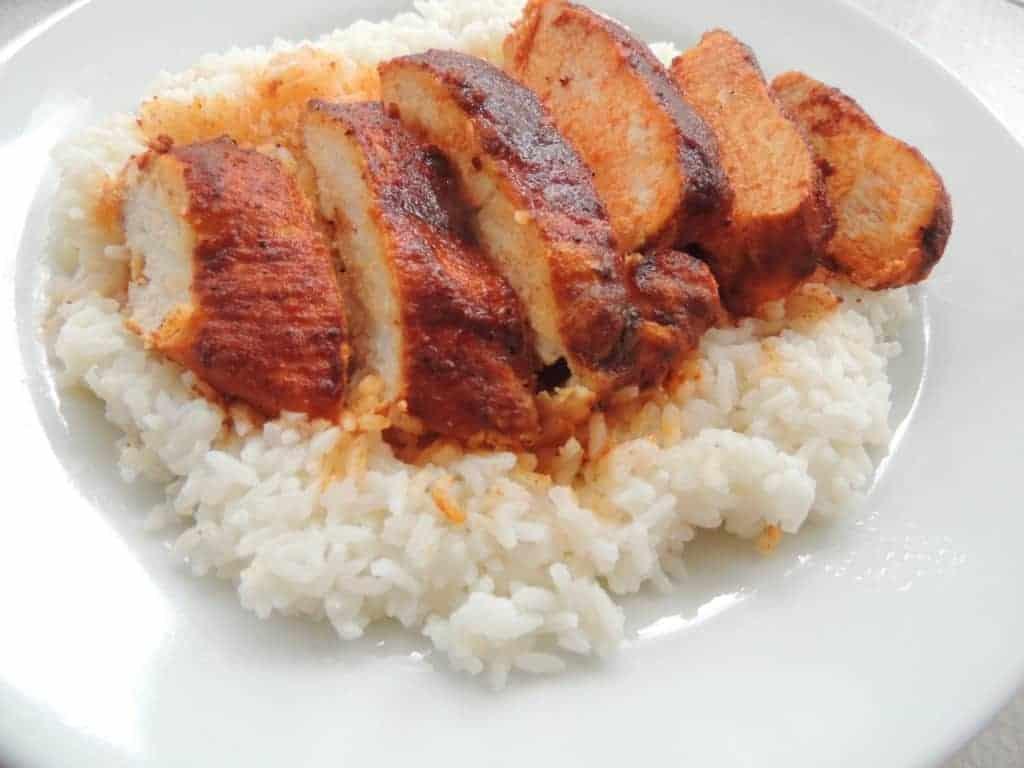 chicken paprika southern plate