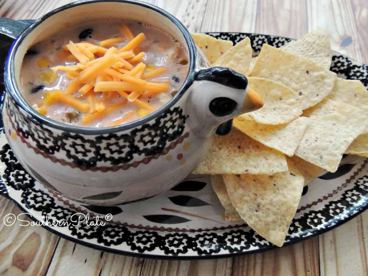 Speedy Salsa Soup