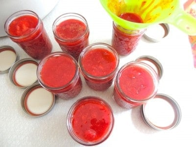 Easiest, Freshest Tasting Strawberry Jam - No Cooking, No Canning!
