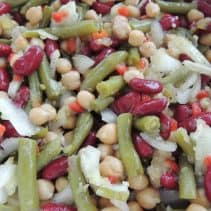 3 Bean Salad from SouthernPlate