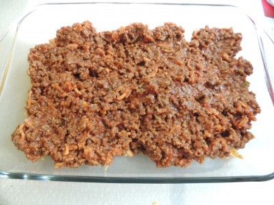 Deep Dish Sloppy Joes from SouthernPlate - DELICIOUS!