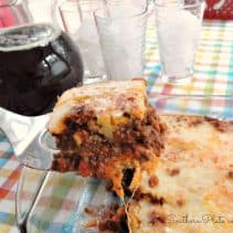 Deep Dish Sloppy Joes from SouthernPlate