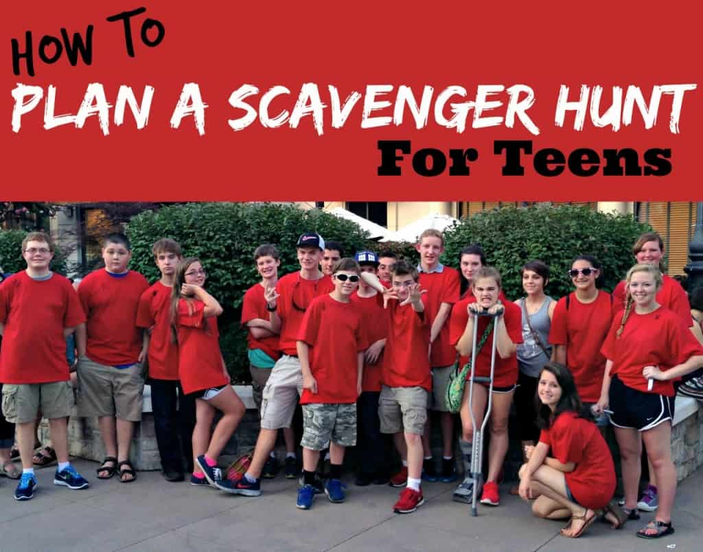 how to plan a scavenger hunt for teens - southern plate