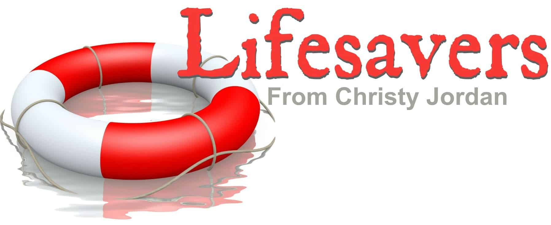 Lifesavers from Christy Jordan