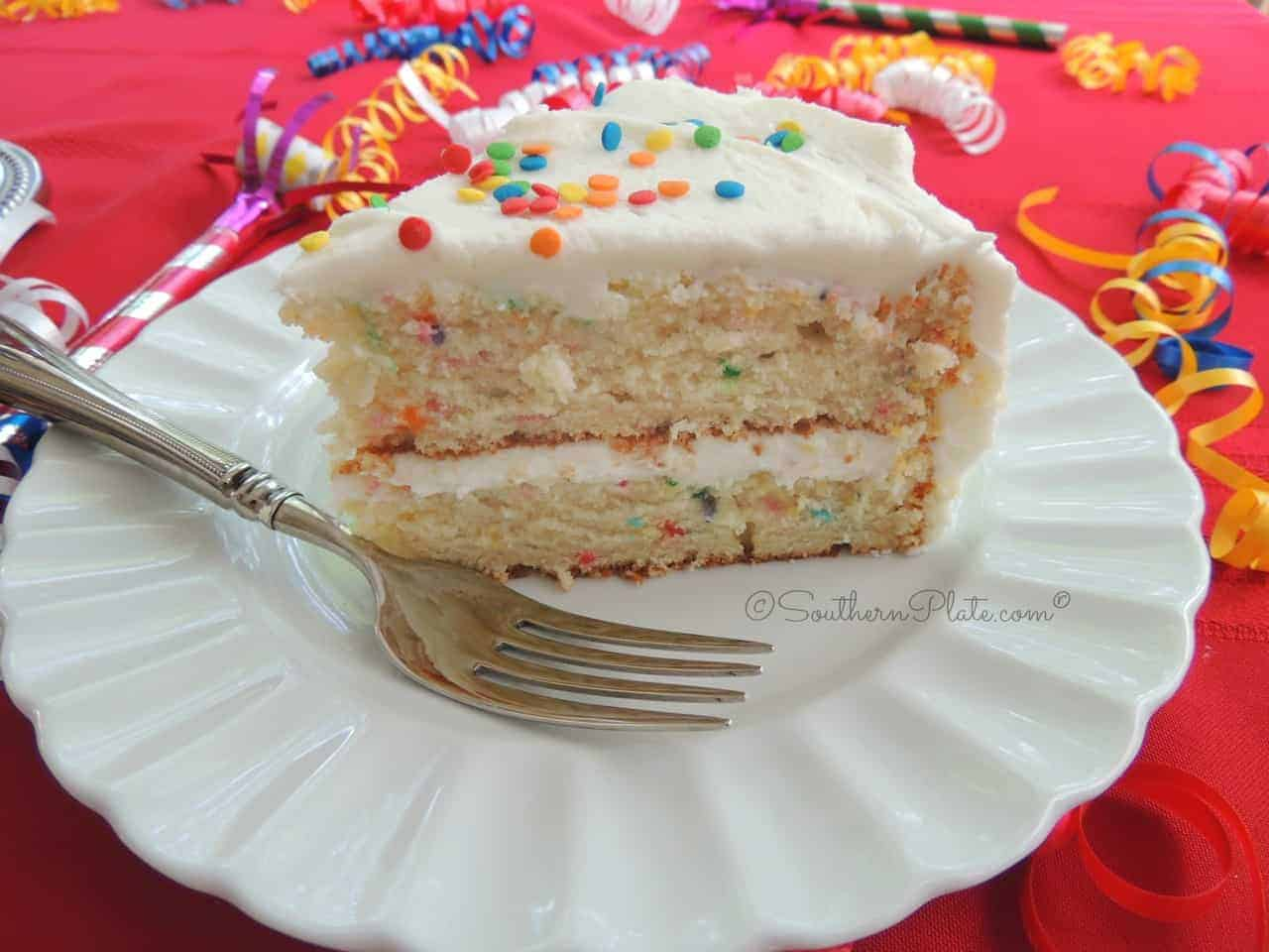 Easy Birthday Cake Recipe From Scratch Southern Plate