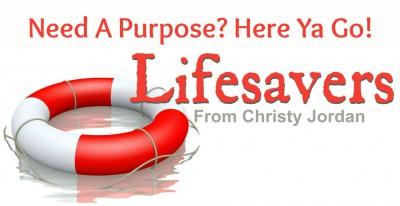 Need a Purpose? Here Ya Go!