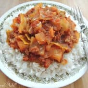 Slow Cooker Cabbage Casserole – and losing Trent
