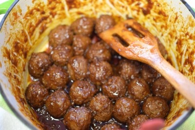 Dr Pepper Meatballs - These are Amazing!