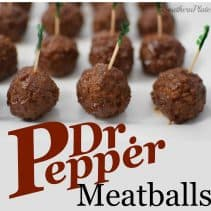 Dr Pepper Meatballs - Amazing!