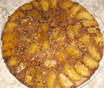 Granny Jordan's Apple Skillet Cake