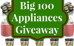 BIG 100 Appliances Giveaway SouthernPlate