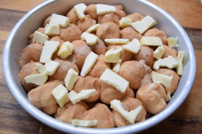 Cream Cheese Stuffed Monkey Bread - and Podunk Piddlies