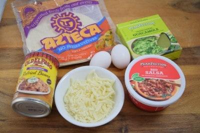 Huevos Rancheros- Fresh, Fast, Flavorful! Enjoy this classic Tex Mex breakfast as a budget friendly supper!