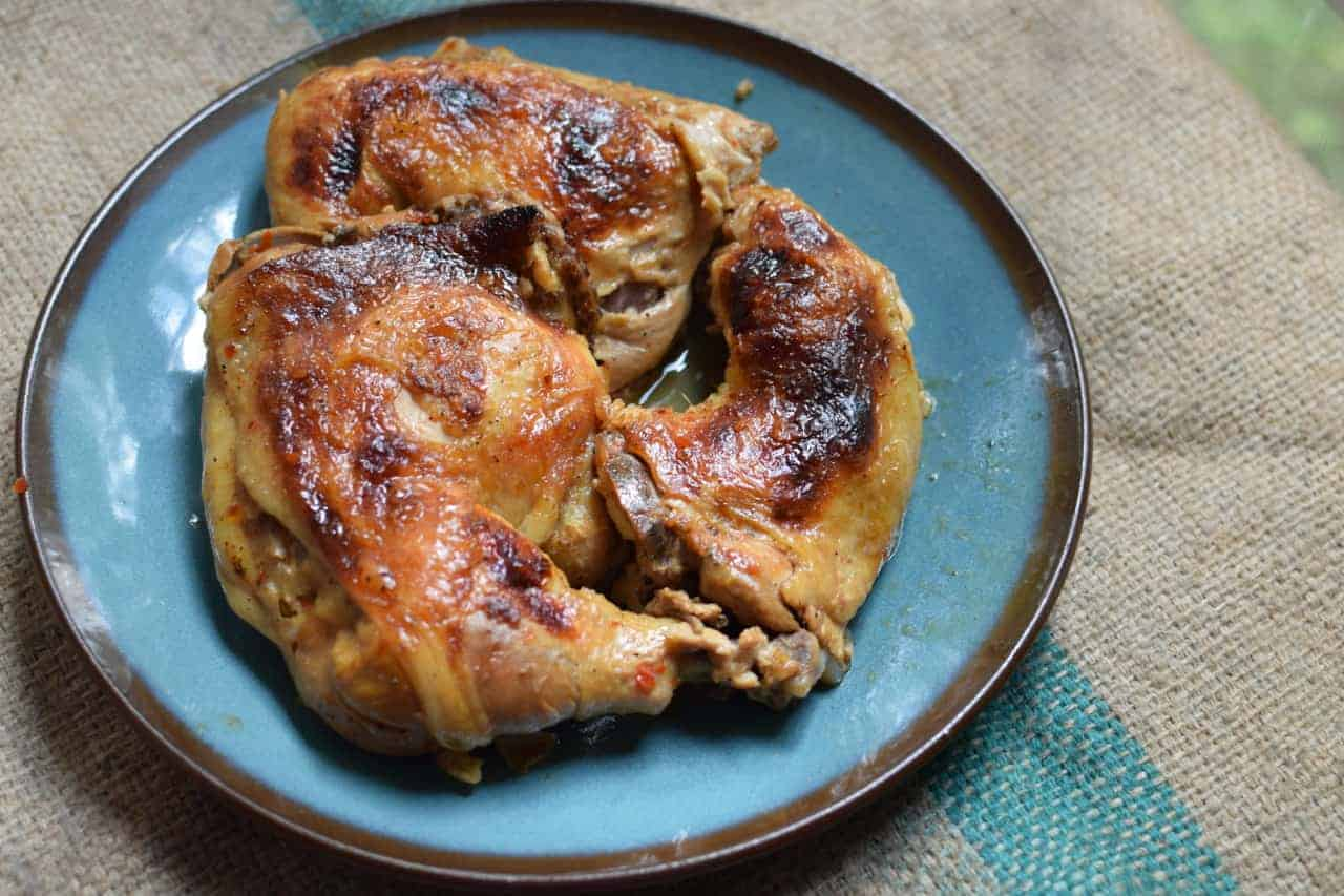 Dutch Oven Smokehouse Chicken Southern Plate