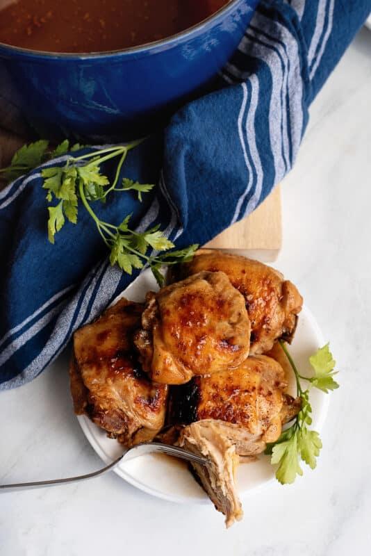Dutch Oven Smoke House Chicken