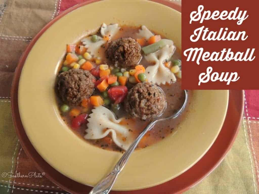 Speedy Italian Soup