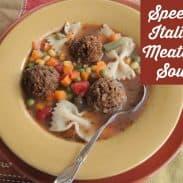 Speedy Italian Soup