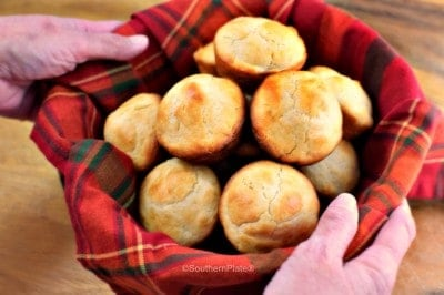 Southern Spoon Rolls - Mix this amazing bread dough up days in advance and just keep it in your fridge!