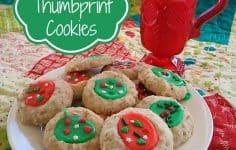 Pecan Thumbprints