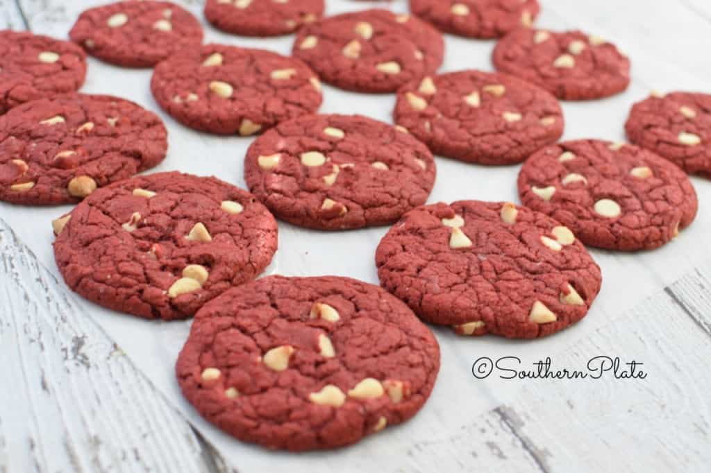Easiest Red Velvet Cookies