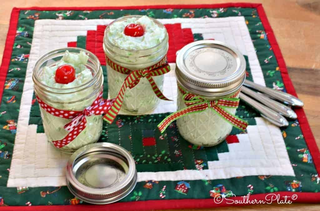 Watergate Salad - This is a must at every holiday for us. Our version is low in sugar but still every bit as rich!