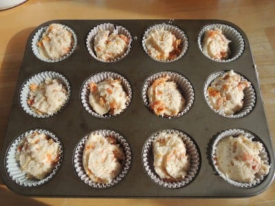 Fabulous Dried Apricot Muffins