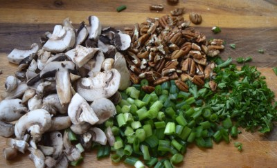 Chicken Pecan Fettuccine - And How I Met My Husband