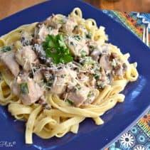 chicken fetuccini
