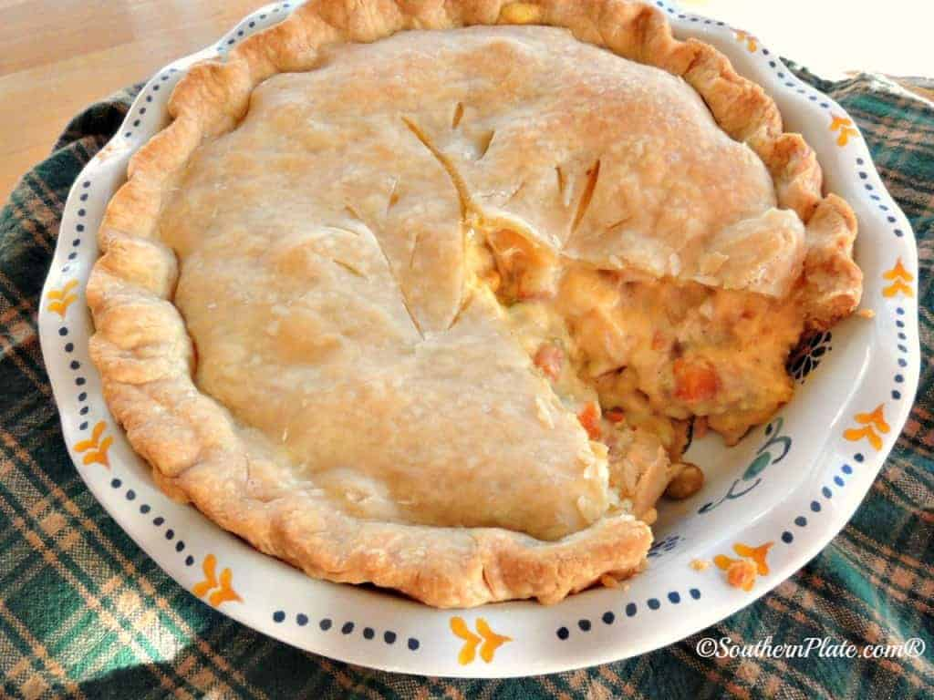 Cheese Lovers Chicken Pot Pie | Southern Plate