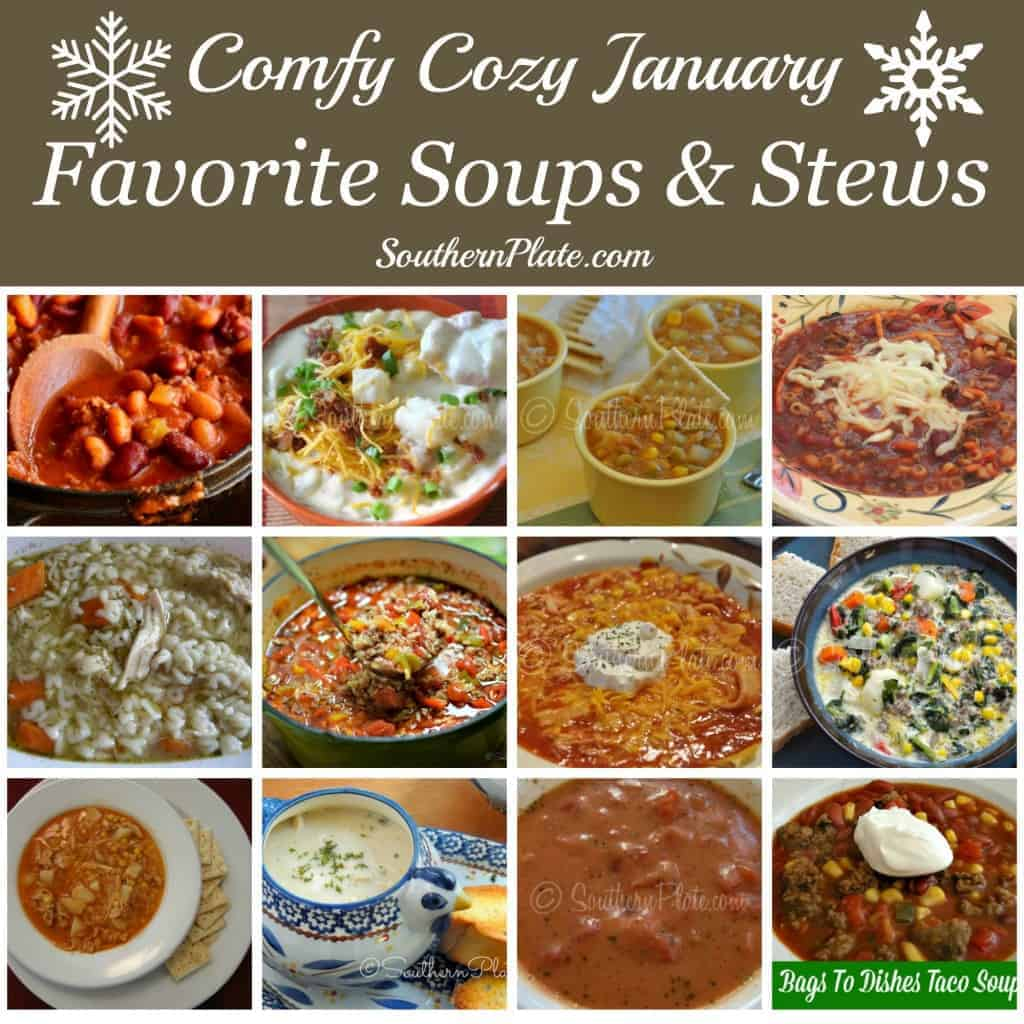 12 Favorite Soups and Stews