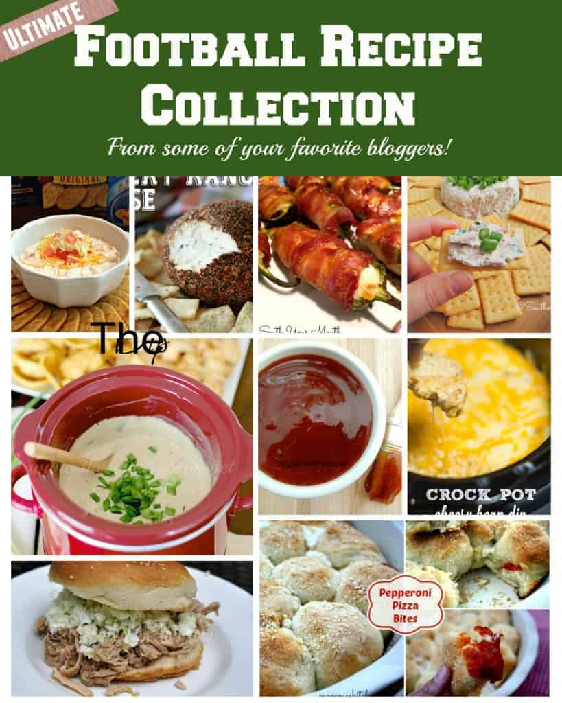 The Ultimate Football Recipe Collection!