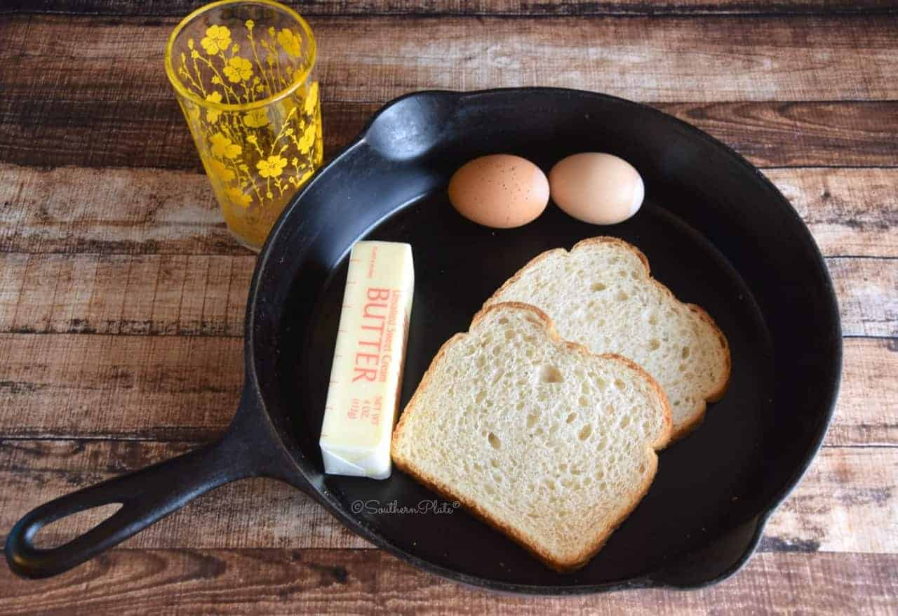 Toad in the Hole: 2 ways. This old fashioned meal in one has been a breakfast favorite for generations!