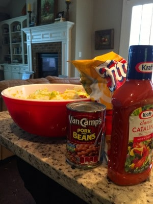 Aunt Charlotte's Frito Bean Salad