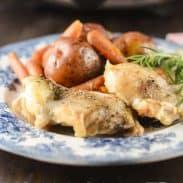 Slow Cooker One Pot Chicken Dinner!