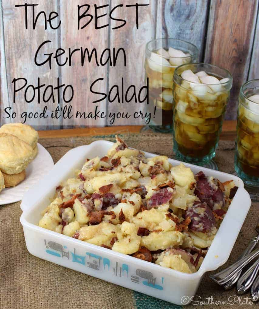 The BEST German Potato Salad - Learn the secrets that make this the BEST German Potato Salad EVER!