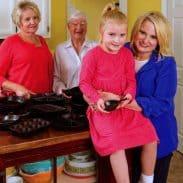 Mama, Grandmama, Me, and Katy. Circa 2012. Copyright Hoffman Media