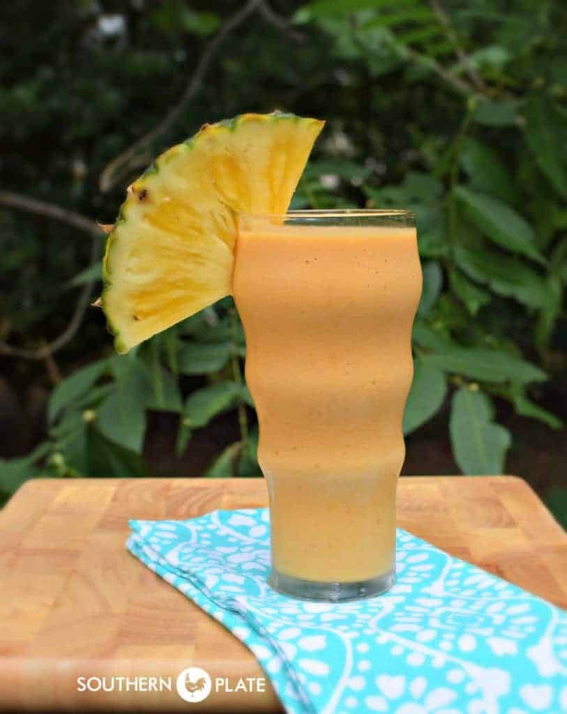 Good For You Pineapple Pumpkin Smoothie