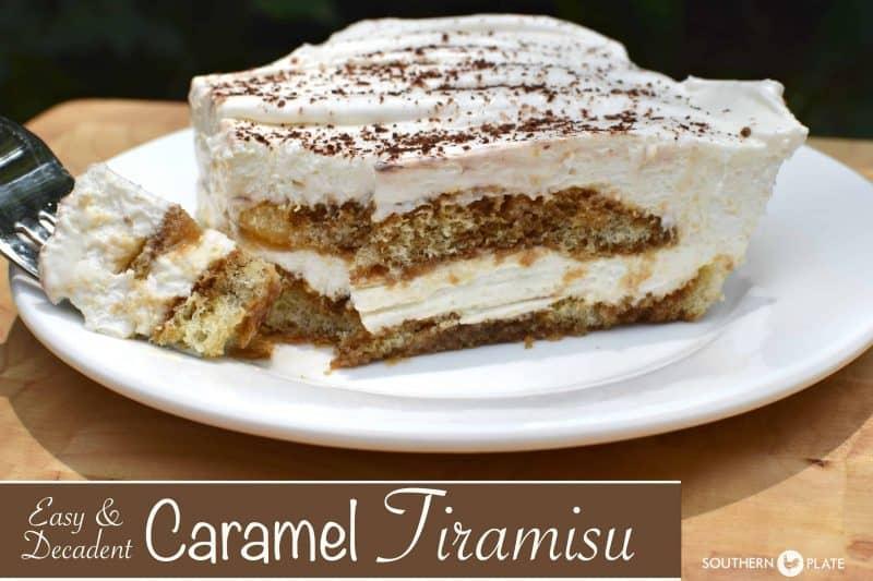 Easy & Decadent Caramel Tiramisu (and a simpler life inside my kitchen)