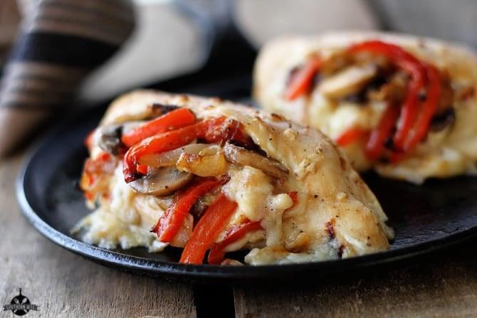 Cheesy-Stuffed-Chicken