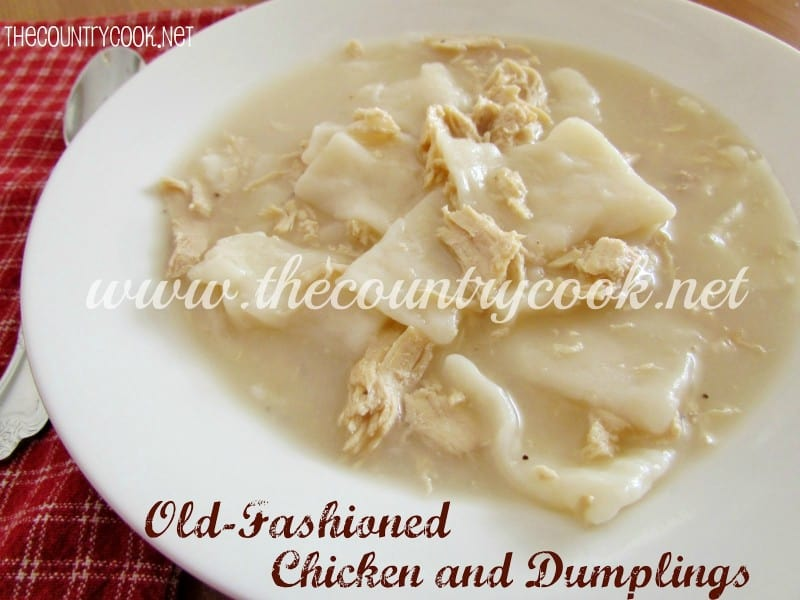 Old Fashioned Chicken and Dumplings (with graphics)