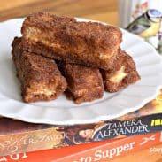 Stuffed Cinnamon Toast Sticks