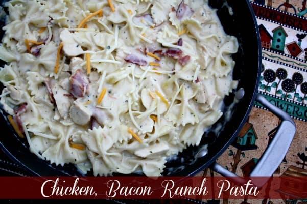 ranch bacon chicken pasta mk