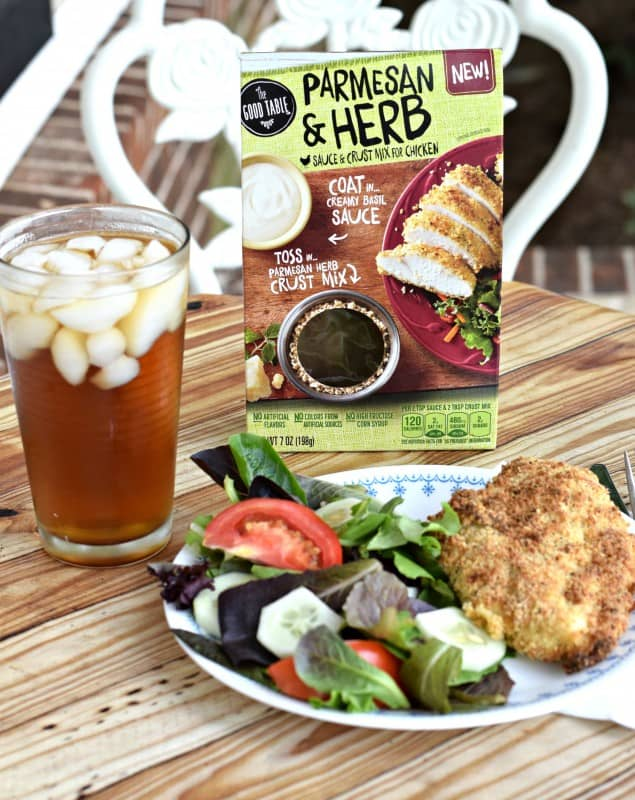 Parmesan & Herb Sauce & Crust Mix for Chicken *Review*