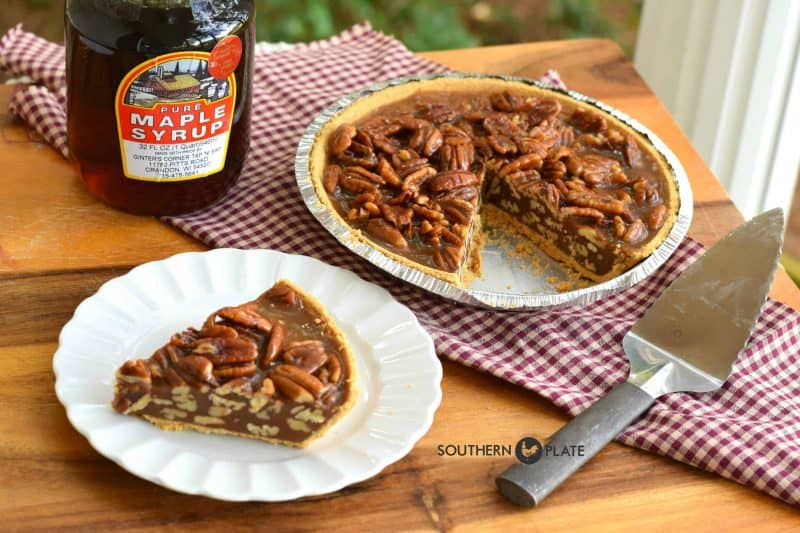 Maple Pecan Pie - the MUST MAKE Pie for Thanksgiving 2015!