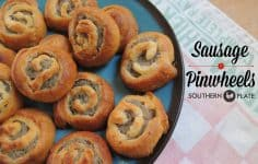 Sausage Pinwheels from SouthernPlate!