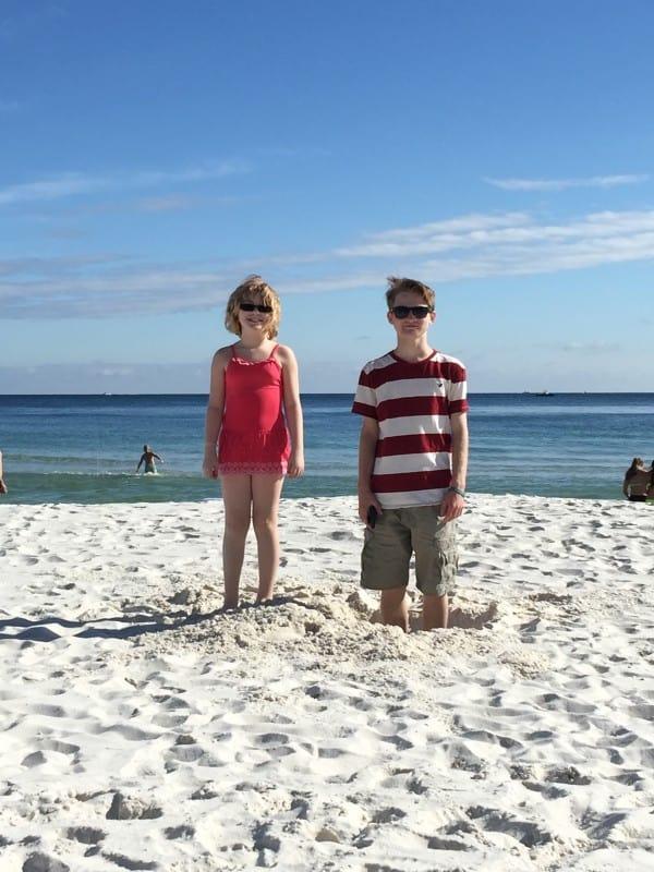 beach kids sand