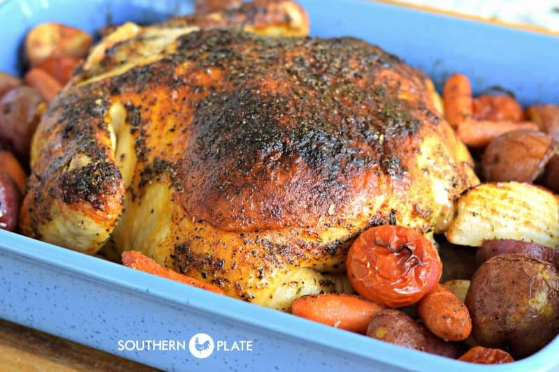 Butter Roasted Chicken